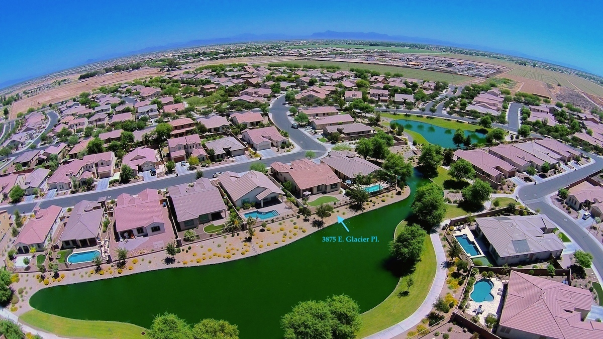 new offering chandler arizona waterfront home in old stone ranch