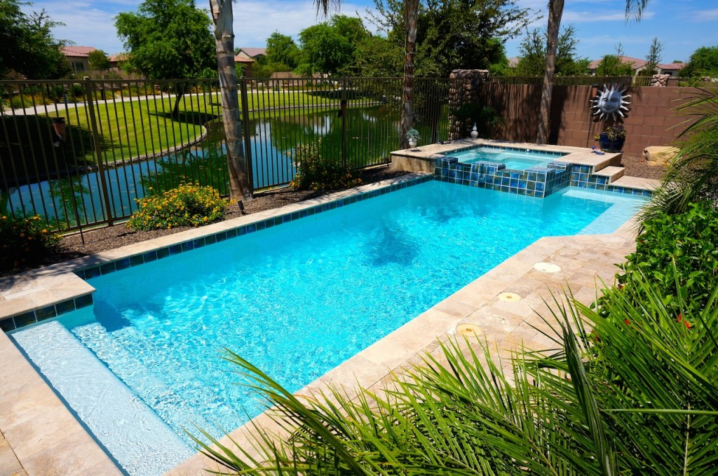 Waterfront homes for sale in chandler arizona the guerrero group of realty one chandler for Chandler public swimming pools