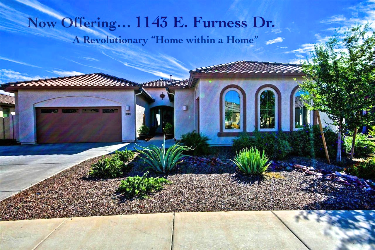 """next gen evolution """"home within a home"""" for sale in gilbert's"""