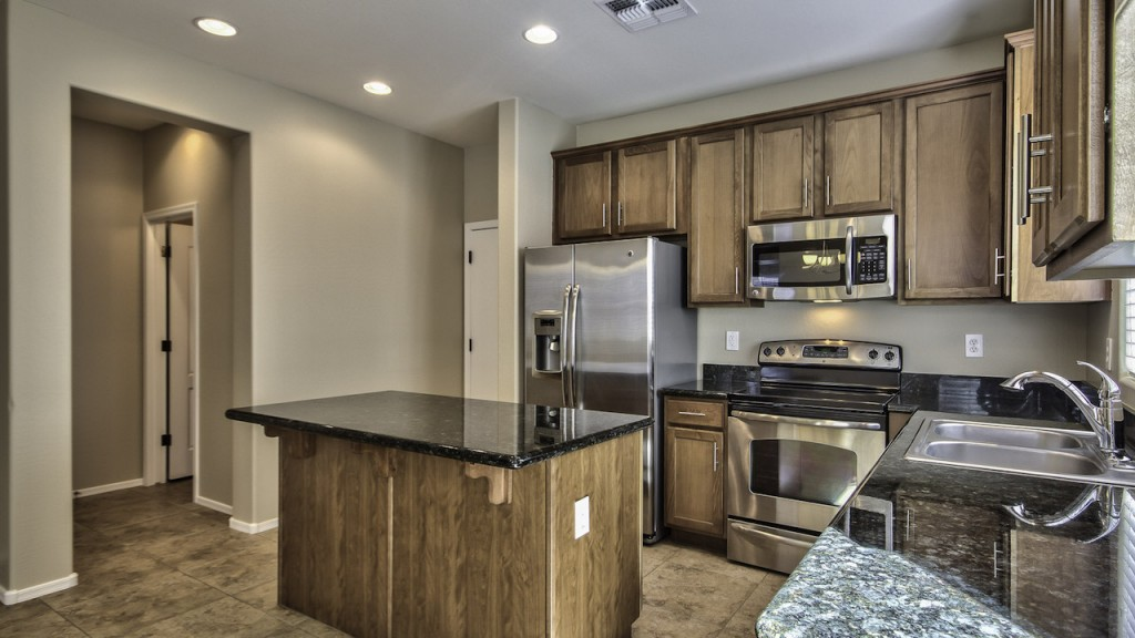 The Guerrero Group_Upgraded Kitchen in 4142 E Vest Ave Home for Sale in The Willows Gilbert Az 85295 with Resort Style heated Community Pool