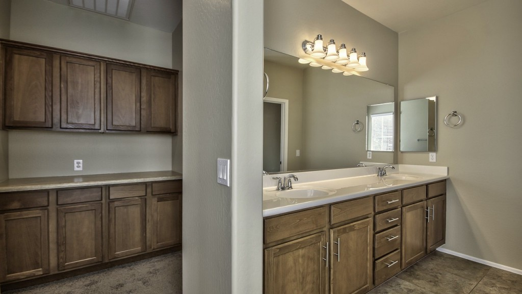 Upgraded Cabinetry & Hardware in 4142 E Vest Ave 3 bedroom 2.5 bathroom home for Sale in THE Willows  Gilbert Arizona 85295