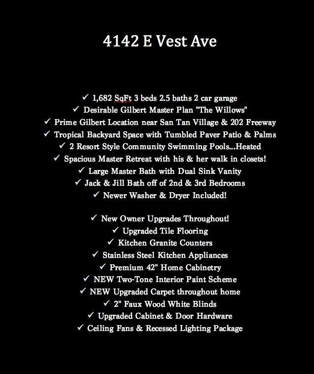 vest upgrade list