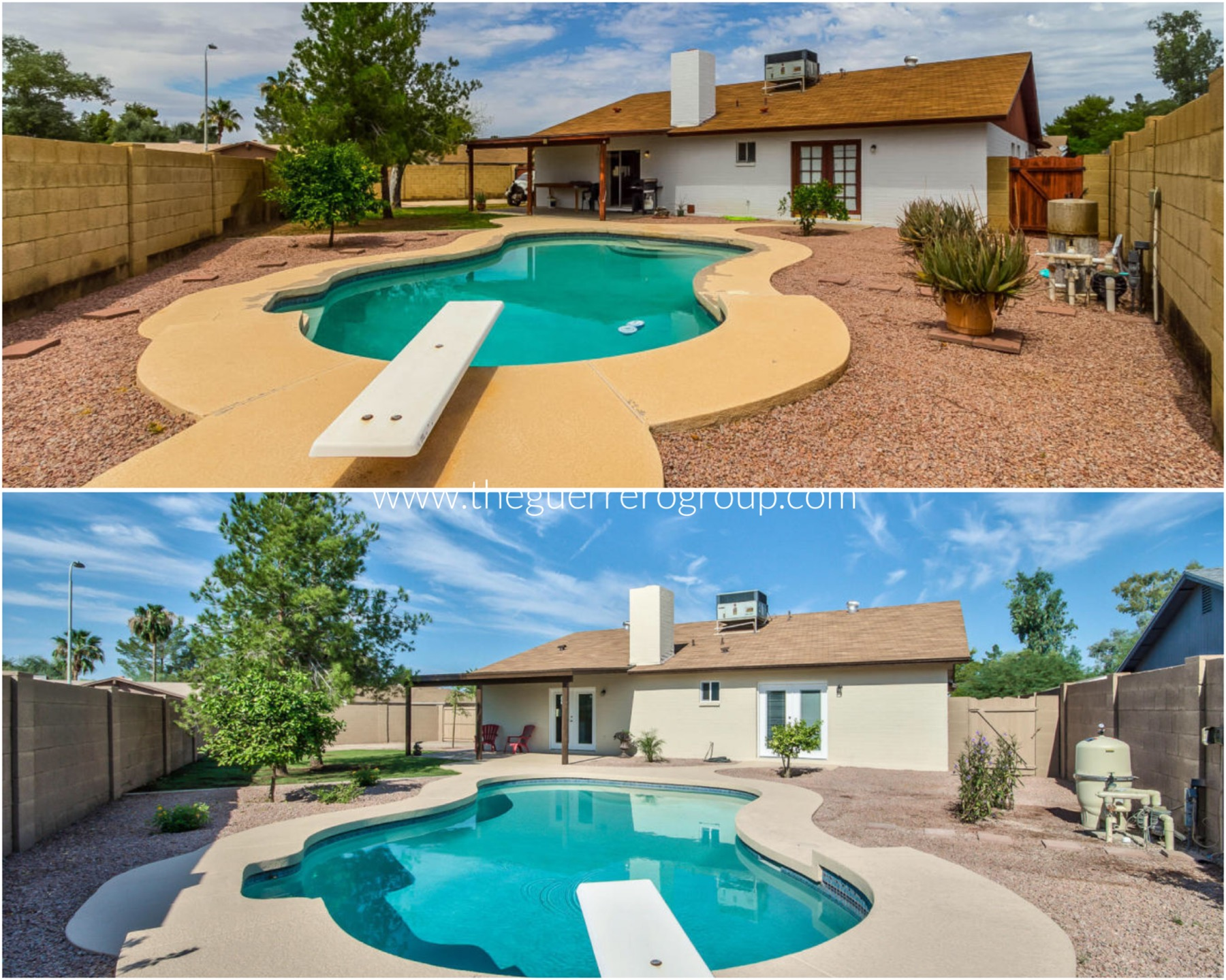 The Guerrero Group NEW Renovated Chandler Home for Sale with Diving Pool 85224