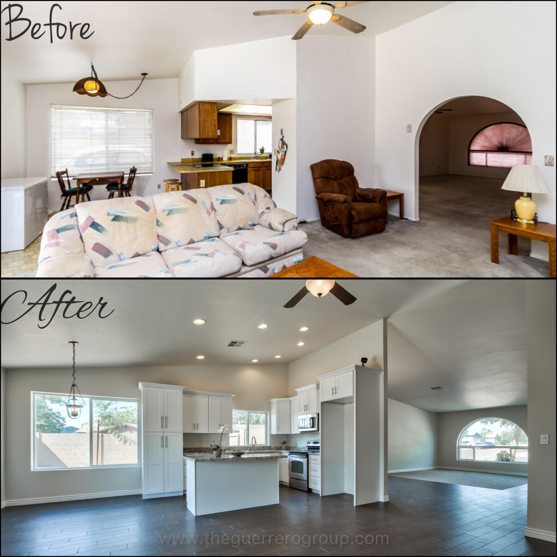 The Guerrero Group of Realty ONE Group specializing in home renovations in Chandler Arizona 85224 Tierra Dobson