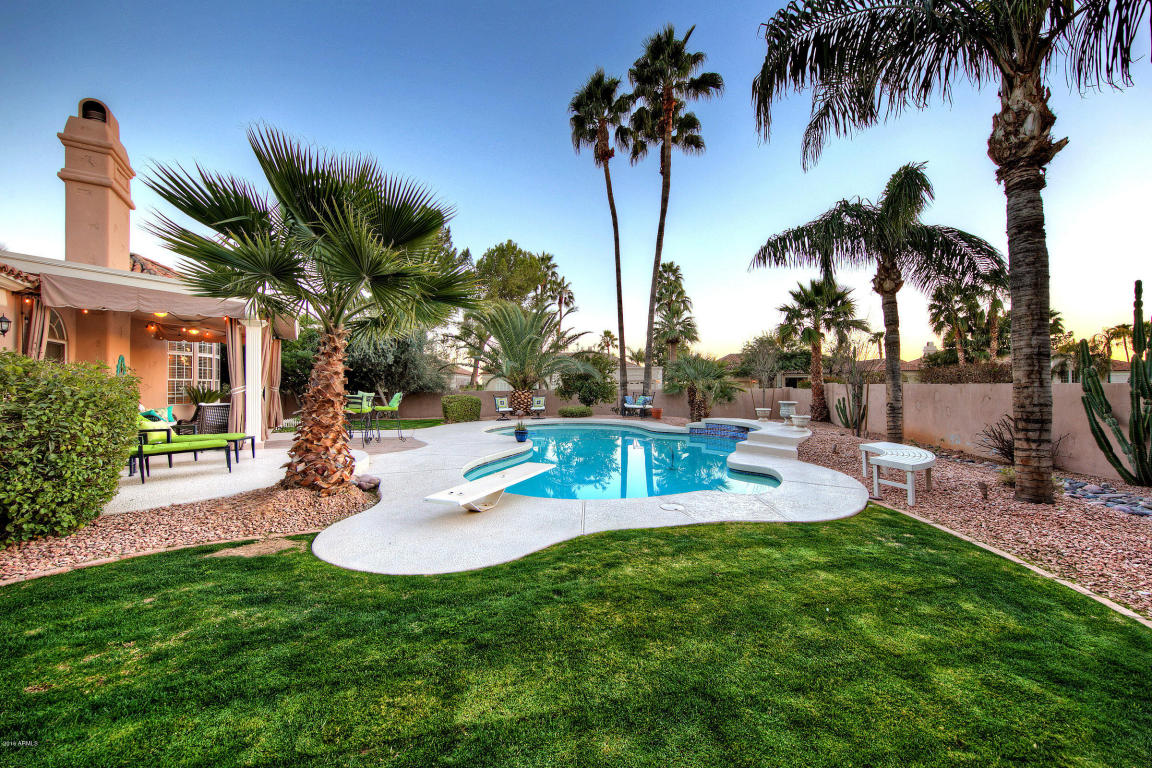 Houses For Sale Pool Of Scottsdale Ranch Home For Sale In St Tropez Estates