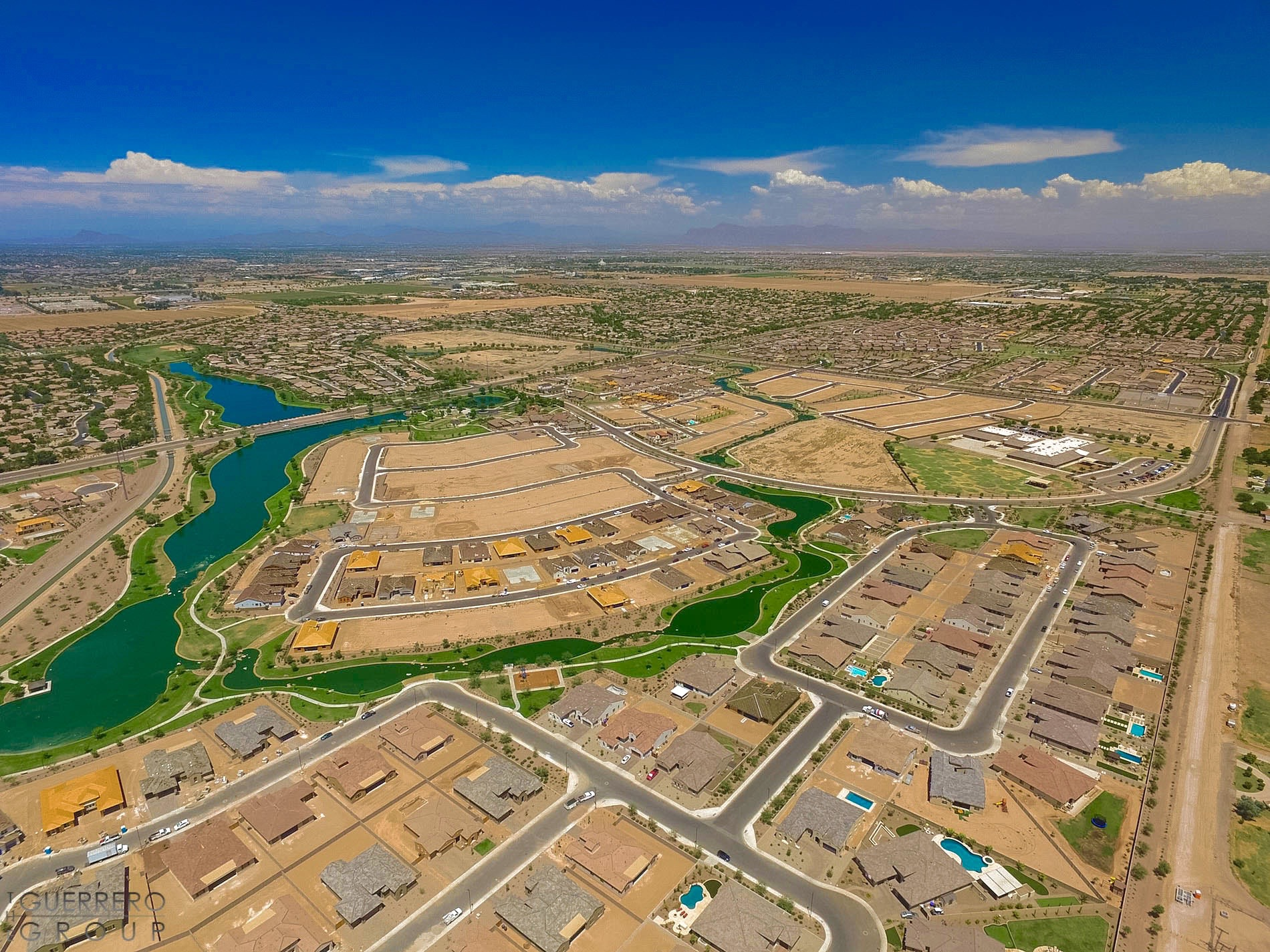 The Guerrero Group specializing in new Homes for sale in Layton lakes Chandler Gilbert AZ
