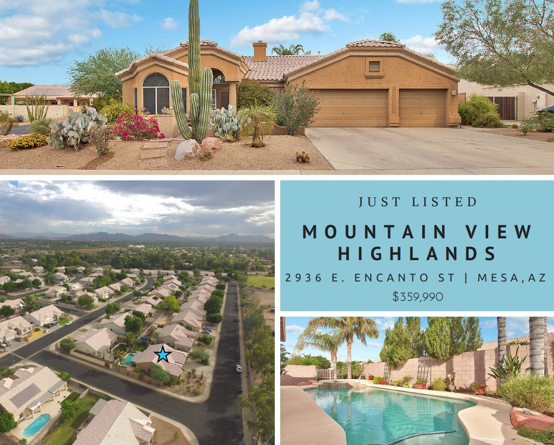 mountain view highlands home for sale with pool in mesa az 2936 e encanto st arizona mesa