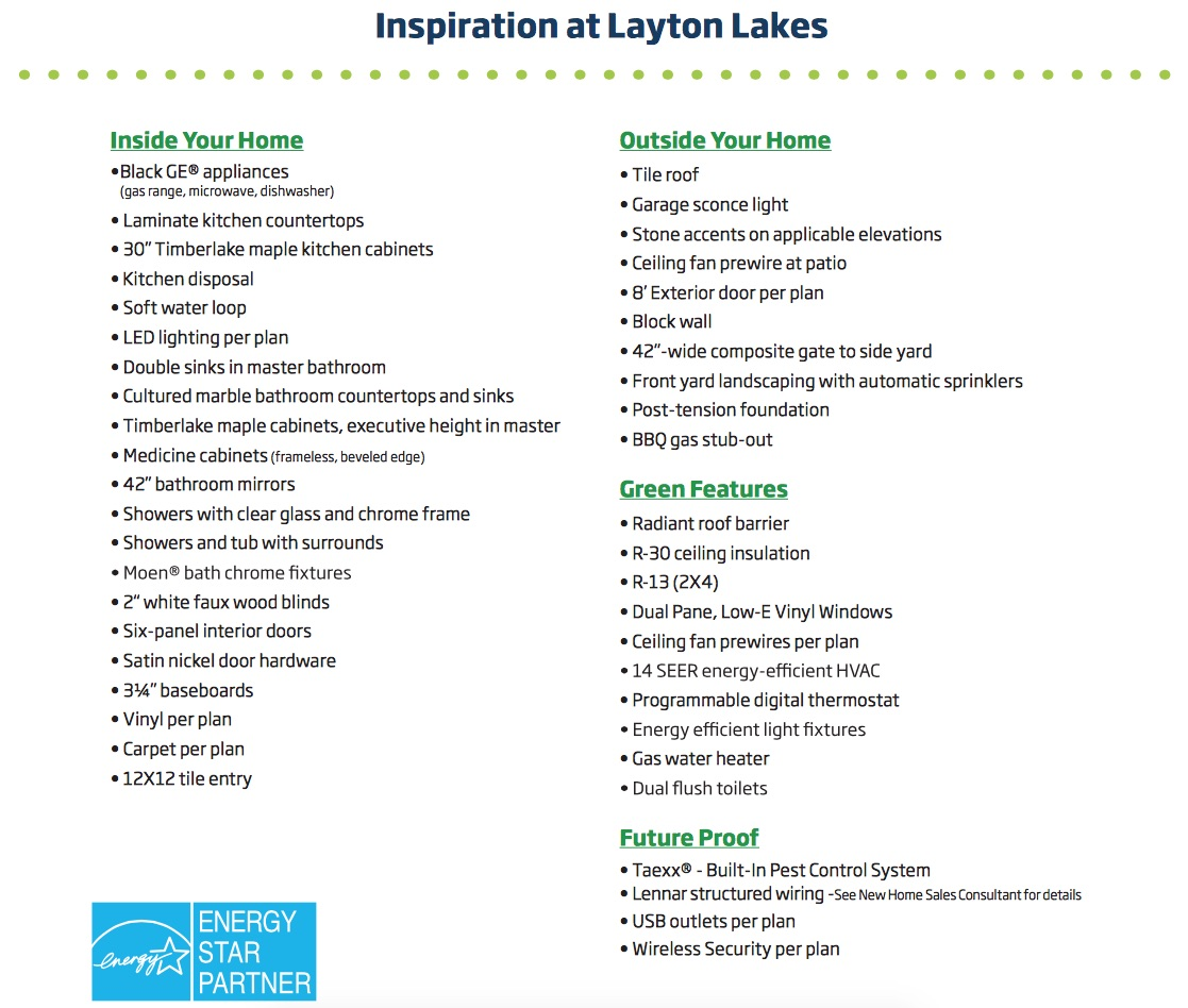 Layton Lakes Inspiration New Home Features The Guerrero Group Your 1 Wiring Block Wall Selling Team