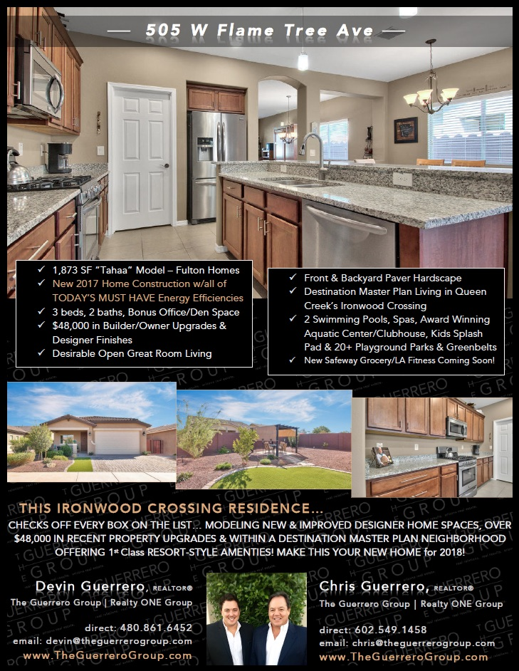 Take Advantage Of This Amazing Home Opportunity In The Desirable Queen  Creek Home Marketu2026 Pursue Resort Style Community Living In The Award  Winning Fulton ...